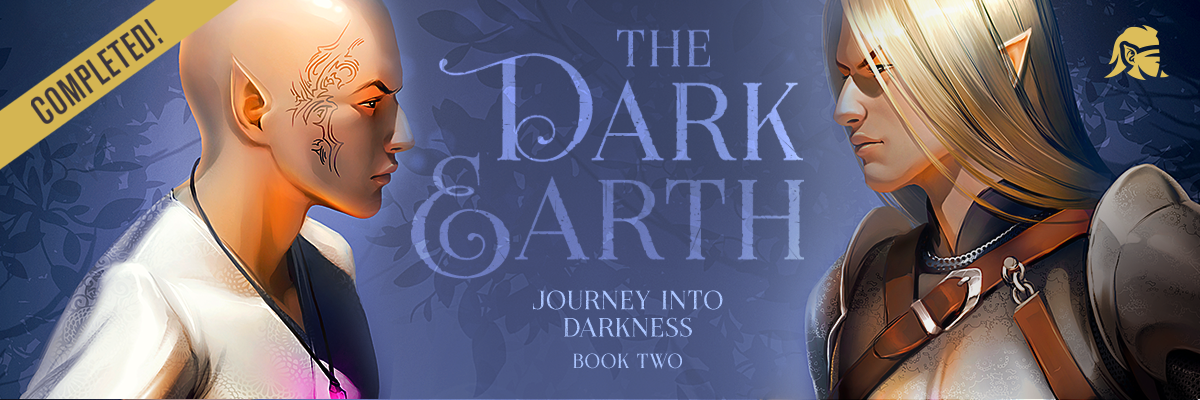 TheDarkEarth BookTwo Banner Horizontal
